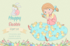 Happy Easter Illustration Set example image 1