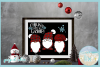 Chillin With My Gnomies Quote with Gnomes SVG example image 2