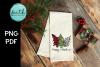 Merry Christmas Trees, buffalo plaid, zebra print example image 4