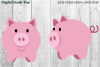 Two Piggies by Digital Doodle Pad example image 1
