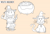Cute Halloween Digital Stamps example image 2