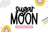 Sugar Moon - A Print/Script Handwritten Font Duo example image 1