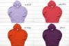 Hoodie Mockup Bundle Gildan 18500 Basic hoodie mockups example image 7