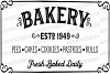 Farmhouse Fixer Upper Style Bakery Sign Cutting File example image 2