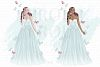 Fairy Tale Princess Butterfly Clip Art example image 2
