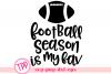 Football svg, Football season cut file, Fall svg example image 1