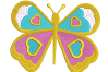 8 Butterflies Machine Embroidery designs example image 6