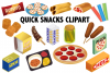 Quick Snack Clipart example image 1