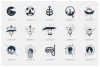 Welcome Aboard. 15 Logos & Badges in AI, EPS, PNG and SVG example image 2