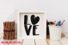 Love knitting and crochet set / svg, eps, png file example image 2