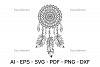 DreamCatcher SVG   vector files example image 3