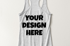 Ladies Tank Top Mockups - 20|Front/Back|PNG example image 6