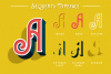 Sequents - Layered Font and ORNAMENT example image 2