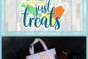 No Tricks Just Treats Halloween Candy Quote SVG example image 4