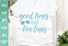 Good Times and Tan Lines - A Beach SVG Cut File for Crafters example image 1