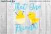 That One Friend Spring Chicks Digital Doodle Pad example image 1