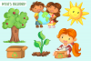 Earth Day Clip Art Collection example image 2