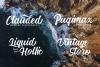 Nadheeya Script Font example image 3