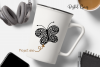 Butterfly SVG / DXF / EPS / PNG files example image 4