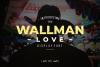 Wallman Love Display Font example image 1