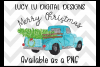 CHRISTMAS - Merry Christmas Truck example image 2
