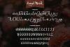 Langit Merah Font with Bonus 6 Dark Texture Backgrounds example image 8
