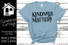 Kindness Matters SVG example image 1