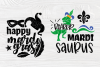 Mardi Gras SVG Bundle | 20 Funny Mardi Gras Quotes example image 6