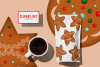 Gingerbread Cookies Christmas Clipart Download PNG Files example image 2