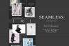 Instagram Puzzle Canva Template - Noire example image 2