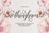 Nothingham Script | Regular & Italic example image 1