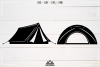 Camp Camping Tent Packs Svg Design example image 4