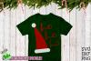 Santa Claus Ho Ho Ho Hat Christmas SVG File example image 3