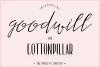 Goodwill & Cottonpillar example image 1