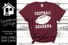 Football Grandma SVG example image 1