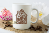 New home paper cut design. SVG / DXF / EPS / PNG example image 4