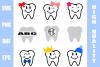 Teeth SVG Bundle example image 1