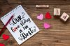Cute Valentines Overlays-Valentines Day Overlay Collection example image 2