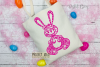 Rabbit paper cut design. SVG / DXF / EPS / PNG files example image 4