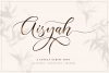 Aisyah | Lovely Script example image 1