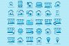 30 real estate icons set example image 2