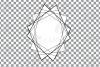 Geometric lineal black frames decor clip art. Wedding border example image 7