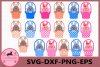 Bunny Svg, Bunny Easter Basket, Bunny Easter SVG Files example image 1