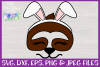 Easter | Sloth Face SVG Cut File example image 3