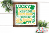 St. Patrick's Day Subway Art example image 2