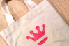 Princess Crown Split Applique Embroidery Design example image 1