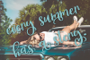 Sunkissed Script - A Hand-Written Calligraphy Font example image 2