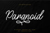 Paranoid - Elegant Monoline Font example image 1