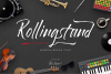 Rollingstand - Modern Brush Font example image 1