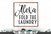 Alexa Fold The Laundry SVG example image 1